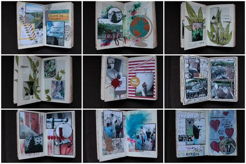 Altered Book Crop Royal2
